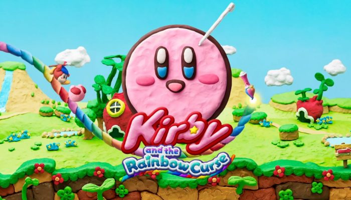 Kirby and the Rainbow Curse – TV Commercial
