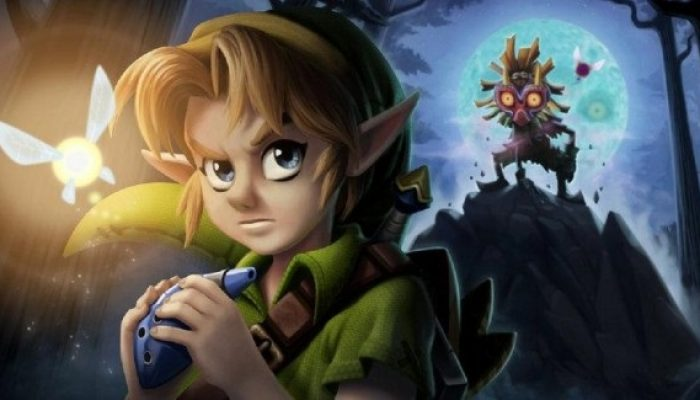 NoE: 'Learn more about The Legend of Zelda: Majora's Mask 3D on our updated website!'