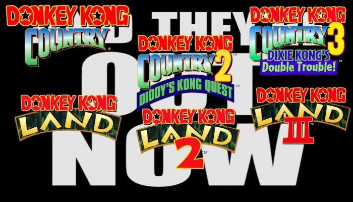 Nintendo eShop – Donkey Kong Swings onto the Virtual Console Trailer