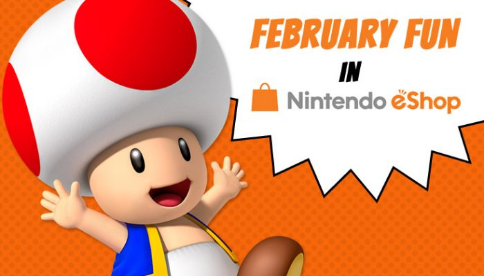 NoA: 'February Fun in Nintendo eShop'