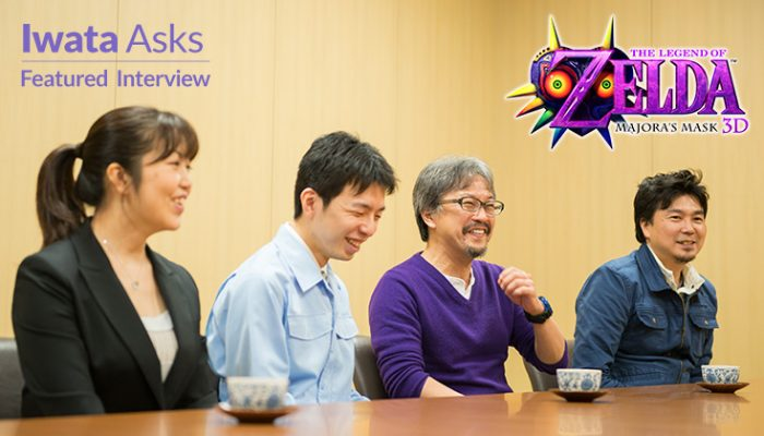 NoA: 'Developer Interview: The Legend of Zelda: Majora's Mask 3D'