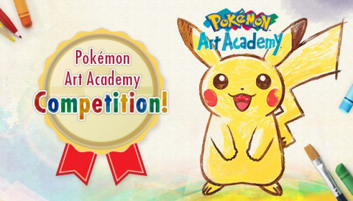 Pokémon: 'Pokémon Art Academy Competition'