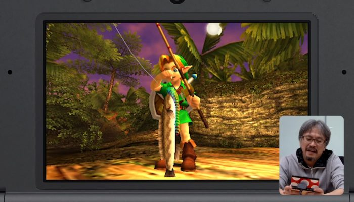 "The Legend of Zelda: Majora's Mask 3D – Japanese ""Swamp Fishing"" Let's Play by Eiji Aonuma"