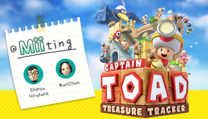 MariChan's Captain Toad 'Miiting' with Shinya Hiratake on Miiverse