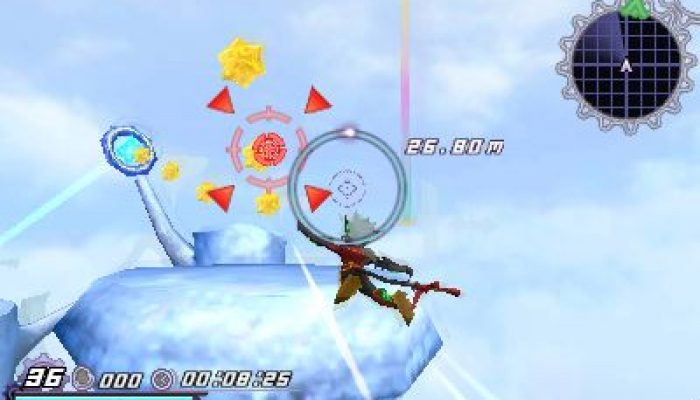 Rodea the Sky Soldier – Wii U, 3DS and Wii Screenshots