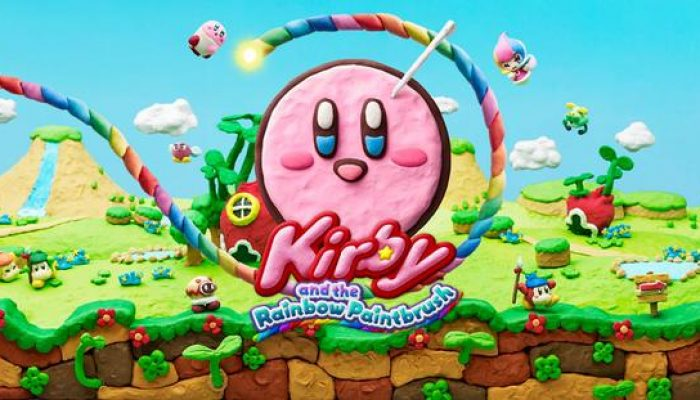 "NoE: 'Join Kirby on his most ""clay-ful"" adventure yet in Kirby and the Rainbow Paintbrush, launching in Europe on May 8th for Wii U'"