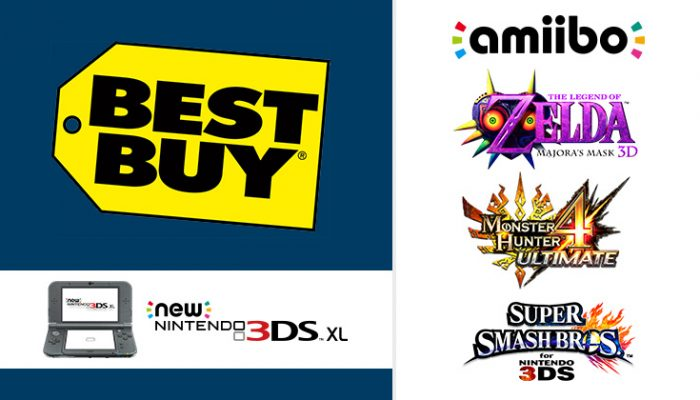 NoA: 'Try New Nintendo 3DS XL, hot games and more this weekend!'
