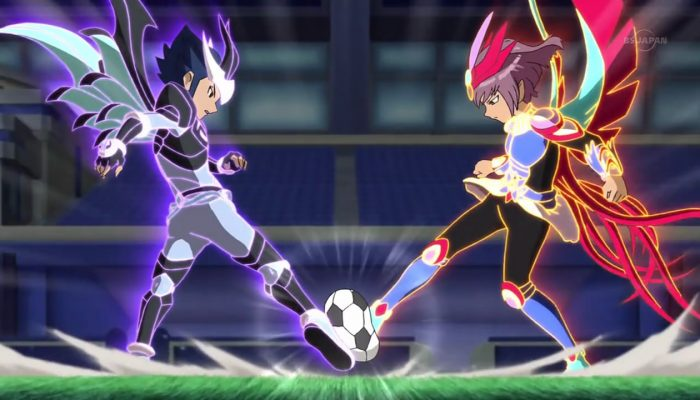 NoE: 'Kick off a new adventure on our official Inazuma Eleven Go Chrono Stones website!'
