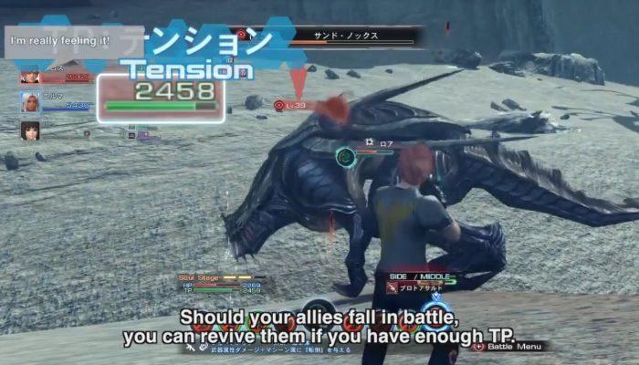 Xenoblade Chronicles X – Battle Presentation with English Subtitles