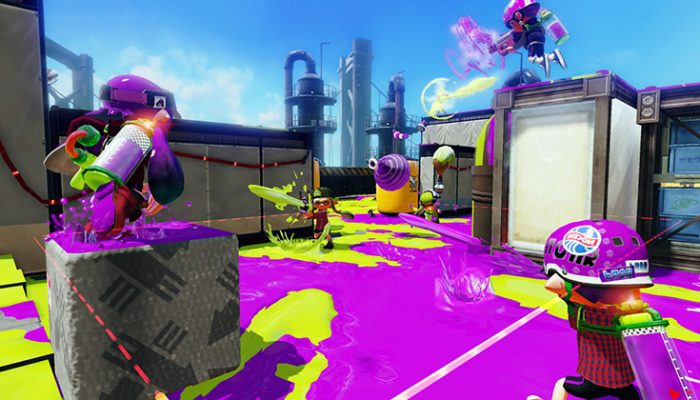 NoA: 'New details about ink-tastic, squid-tacular Splatoon'