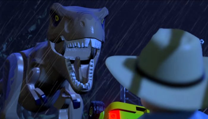 LEGO Jurassic World – Official Trailer