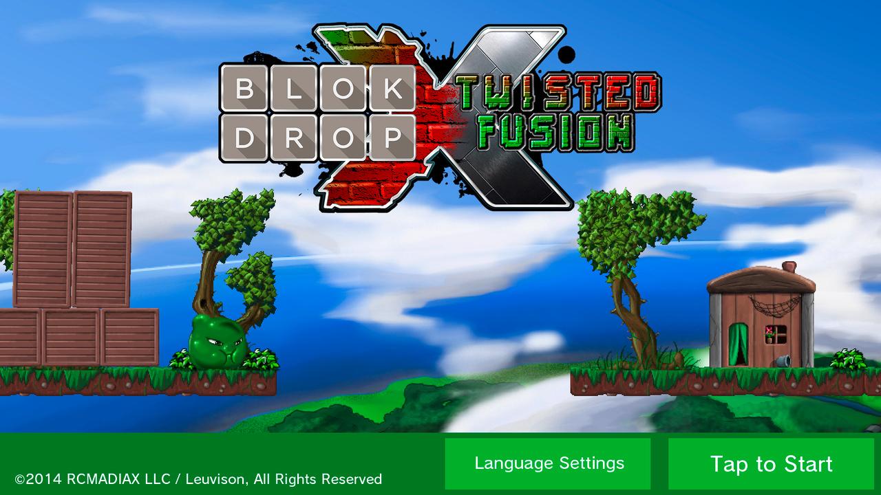 Nintendo eShop Downloads Europe Blok Drop X Twisted Fusion