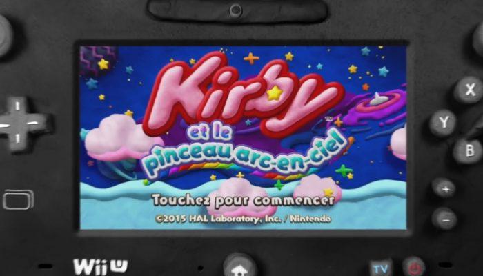 Kirby et le pinceau arc-en-ciel – Bande-annonce française
