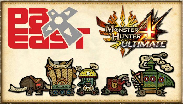 NoA: 'Monster Hunter Caravan Tour kicks off at PAX East'