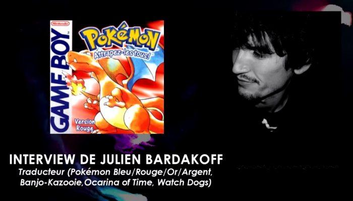 Parlons VF : Interview de Julien Bardakoff (Traducteur, Pokémon Bleu/Rouge/Or/Argent)
