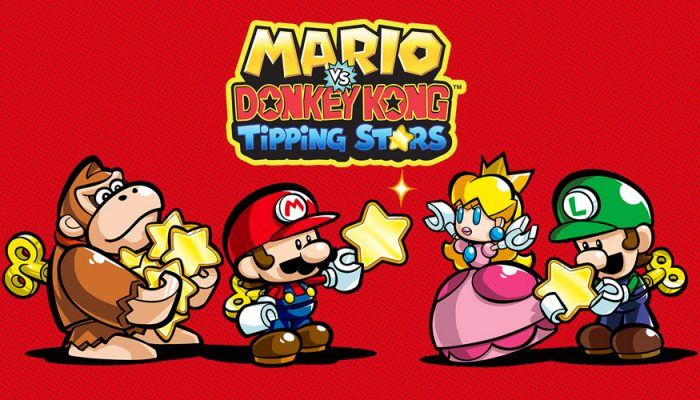 NoE: 'Join the puzzle fun at our official Mario vs. Donkey Kong: Tipping Stars gamepages!'