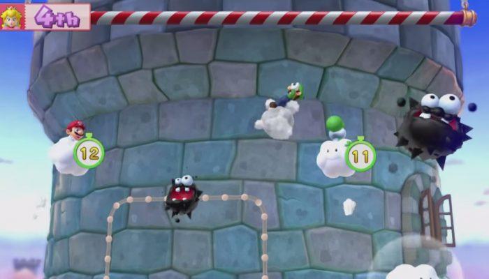 Mario Party 10 – Minijeu Mauvais temps sur la tour