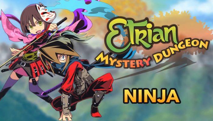 Etrian Mystery Dungeon – Ninja Class Trailer