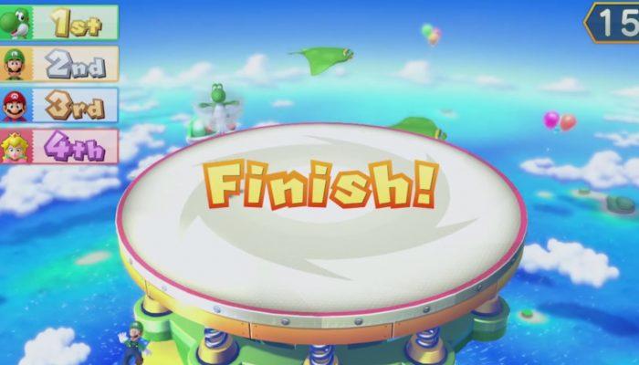 Mario Party 10 – Minijeu, Bousculade de tornades