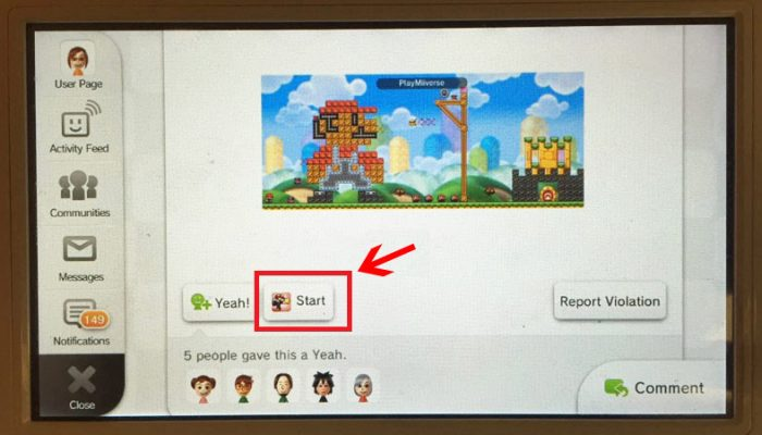 A few tips from Amy on sharing Mario vs. Donkey Tipping Stars levels on Miiverse