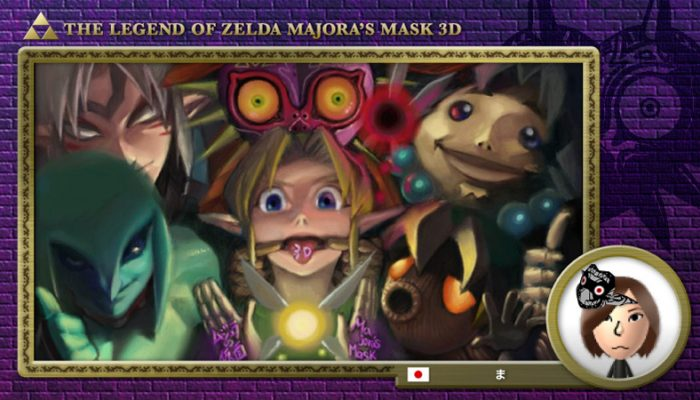 Eiji Aonuma announces the results of the Majora's Mask drawing event on Miiverse
