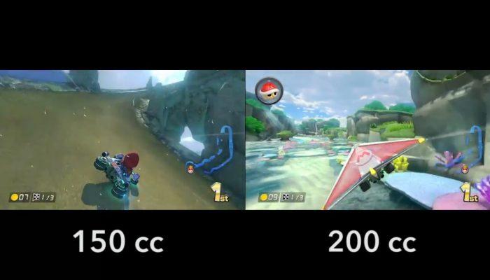 Mario Kart 8 – 200 cc vs 150 cc, Lagon Tourbillon