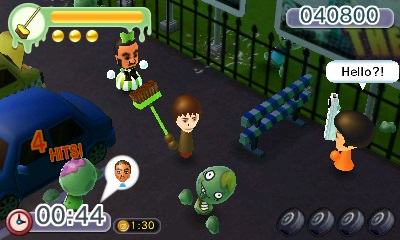 Nintendo eShop Downloads North America StreetPass Mii Plaza Battleground Z