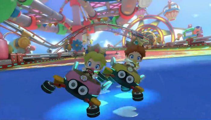 Mario Kart 8 – Bande-annonce DLC, GCN Parc Baby