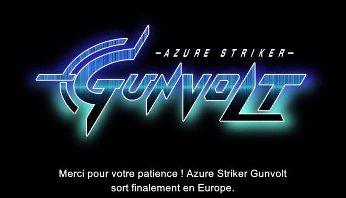 Azure Striker Gunvolt – Message de Keiji Inafune