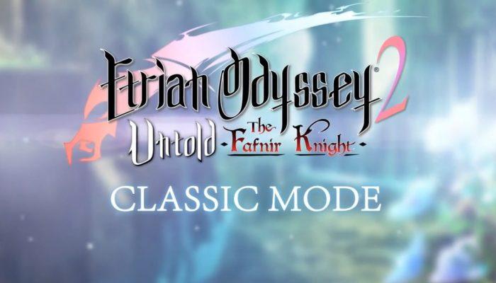 Etrian Odyssey 2 Untold – Classic Mode Trailer