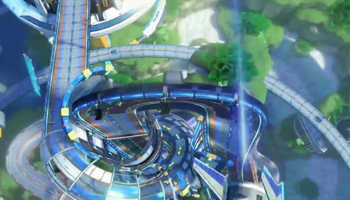 Mario Kart 8 – Bande-annonce DLC, Big Blue