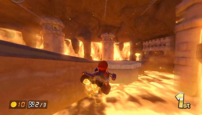 Mario Kart 8 – 200 cc, Volcan grondant