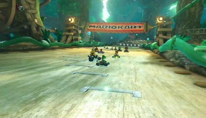 Mario Kart 8 – Bande-annonce DLC, Passage Feuillage