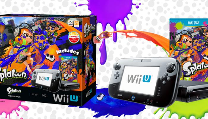 Splatoon Wii U bundle launching on June 19 in Europe