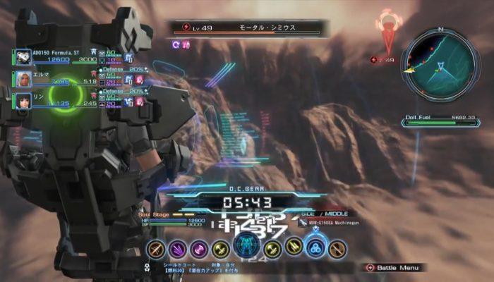Xenoblade Chronicles X – Doll Battle Footage