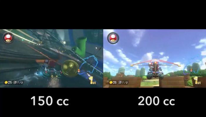 Mario Kart 8 – 200cc vs 150cc, Égout Piranha