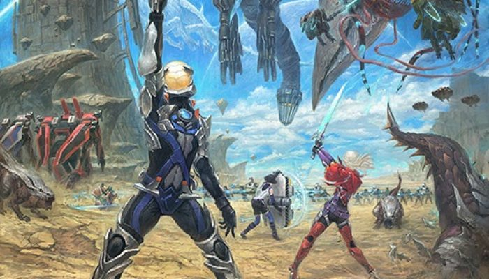 Xenoblade Chronicles X – Seventh Set of Rough Concept Art