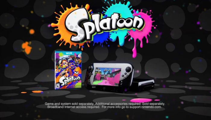 Splatoon – Claim Your Turf Commercial