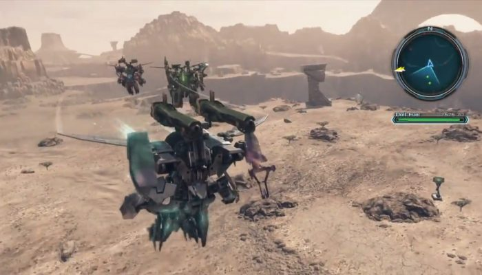 Xenoblade Chronicles X – Doll Footage