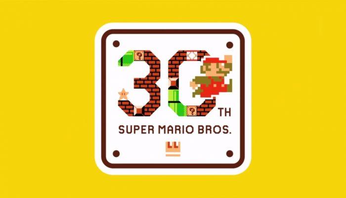 Mario Maker – Bande-annonce Super Mario Bros. 30th Anniversary