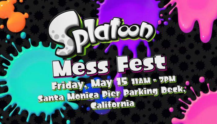 Splatoon – Splatoon Mess Fest Event Details