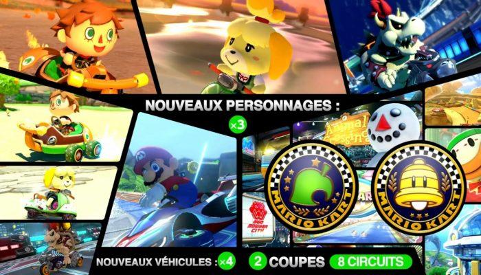 Mario Kart 8 – Bande-annonce de lancement Pack DLC 2