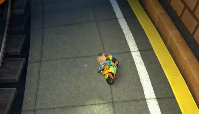 Mario Kart 8 – Bande-annonce DLC, Métro Turbo