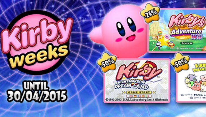 NoE: 'Nintendo eShop sale: Kirby Weeks'