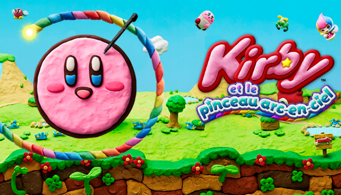 NoE: 'Enter a wonderful world of clay at our Kirby and the Rainbow Paintbrush website!'