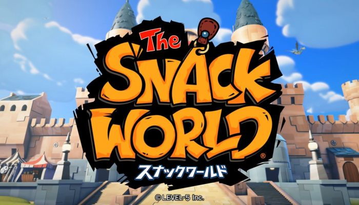 Snack World – English Dubbed Reveal Trailer