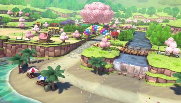 Mario Kart 8 – Animal Crossing Course Screencaps