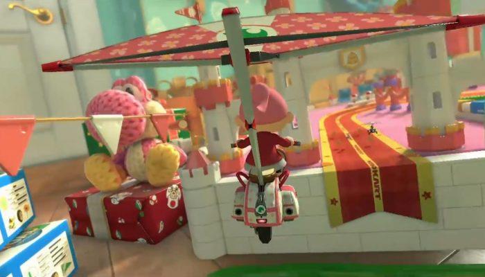 Mario Kart 8 – Bande-annonce DLC, GBA Route Ruban