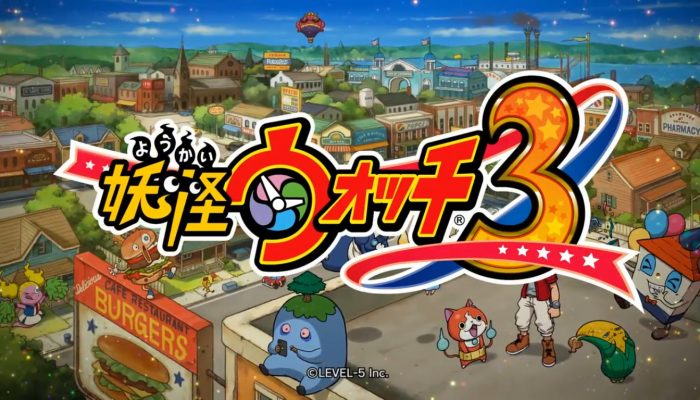 Yo-kai Watch 3 – Japanese Level-5 Vision 2015 Reveal Trailer