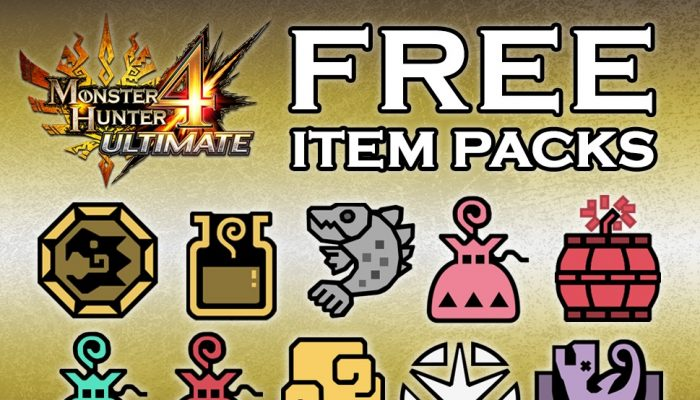 Capcom: 'Two Free Additional Item Packs Available For MH4U'